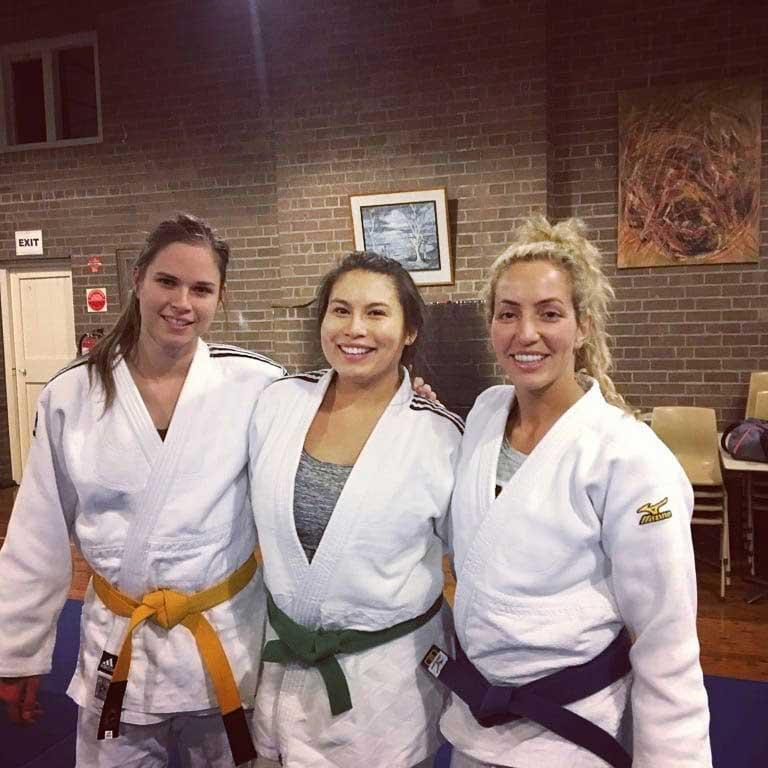 judo matsu st peters assistant coach yvonne floudas